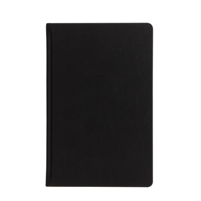 "Letts Origins Hardcover Notebook - 5 1/8"" x 7 7/8"" - Ruled - Black"