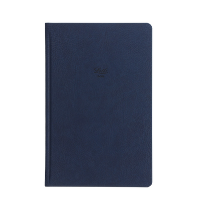 "Letts Origins Hardcover Notebook - 5 1/8"" x 7 7/8"" - Dot Grid - Navy"