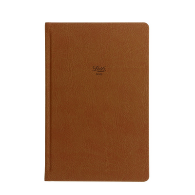 "Letts Origins Hardcover Notebook - 5 1/8"" x 7 7/8"" - Dot Grid - Tan"