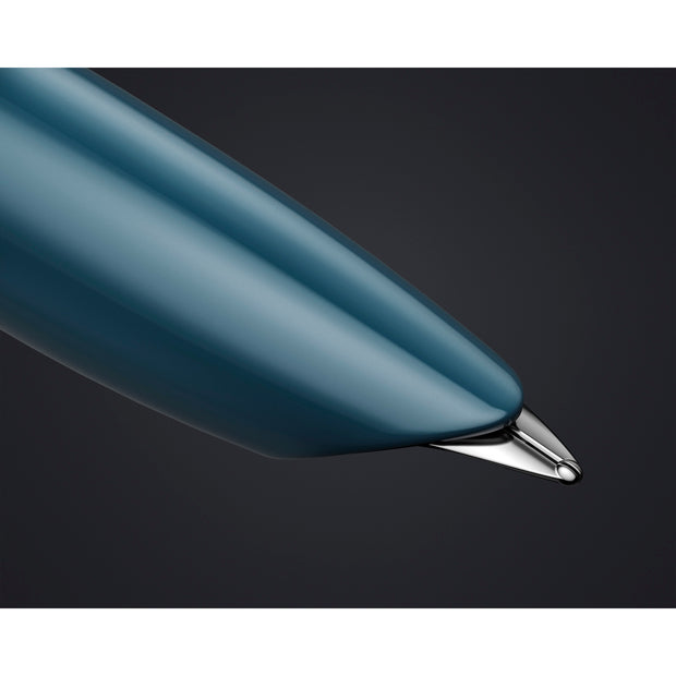 Parker 51 Fountain Pen - Teal Blue