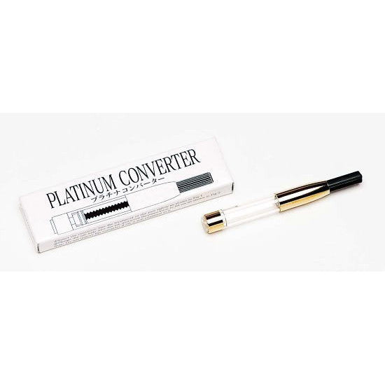 Platinum Fountain Pen Converter - Gold