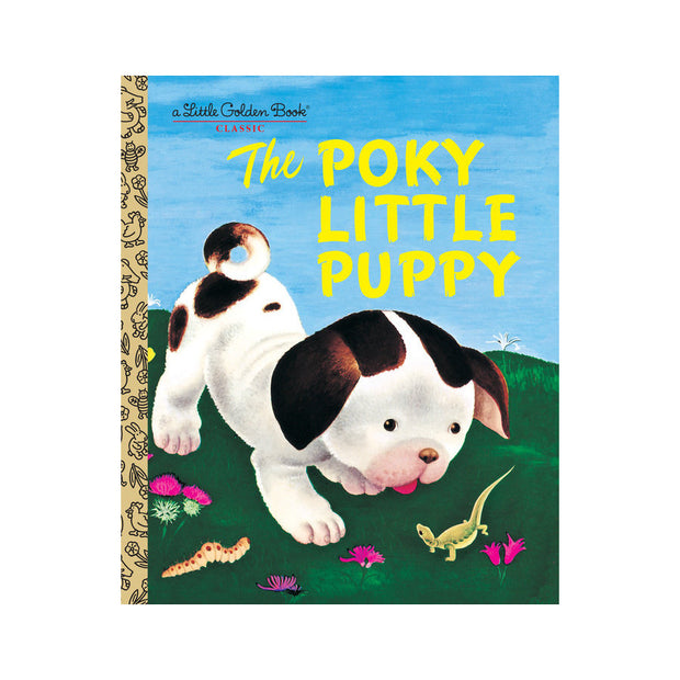 Little Golden Book - The Porky Little Puppy