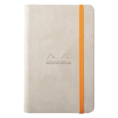 Rhodia Rhodiarama A5 Hard Cover Notebook - Plain - Beige