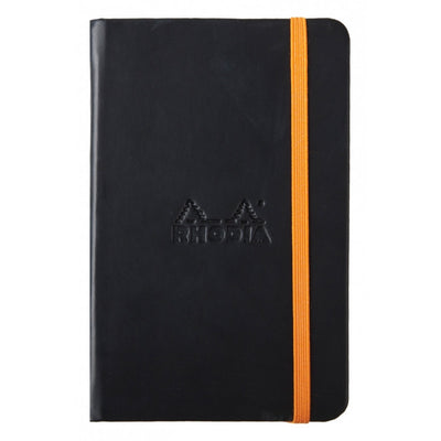 Rhodia Rhodiarama A5 Hard Cover Notebook - Plain - Black