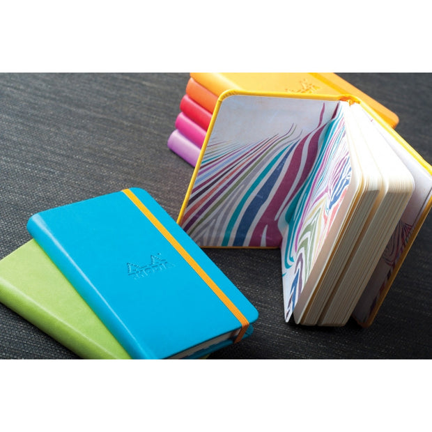 Rhodia Rhodiarama A5 Hard Cover Notebook - Plain - Iris