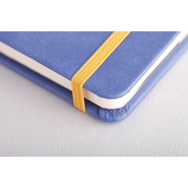 Rhodia Rhodiarama A5 Hard Cover Notebook - Ruled - Sapphire