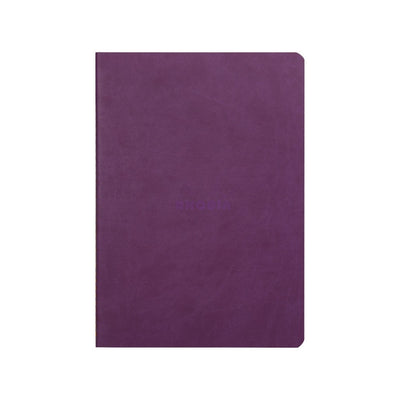 Rhodia Sewn Spine A5 Notebook - Dot Grid - Purple