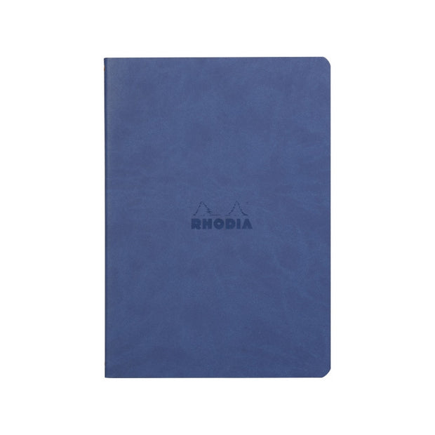 Rhodia Sewn Spine A5 Notebook - Dot Grid - Sapphire