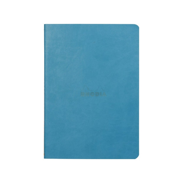 Rhodia Sewn Spine A5 Notebook - Dot Grid - Turquoise