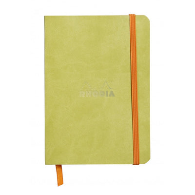 Rhodia Rhodiarama Soft Cover A5 Notebook - Ruled - Anise