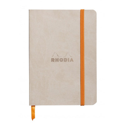 Rhodia Rhodiaram Soft Cover A5 Notebook - Dot Grid - Beige