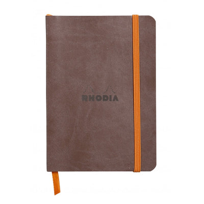 Rhodia Rhodiarama Soft Cover A5 Notebook - Dot Grid - Chocolate
