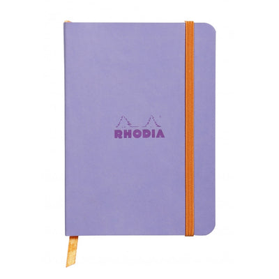 Rhodia Rhodiarama Soft Cover A5 Notebook - Ruled - Iris