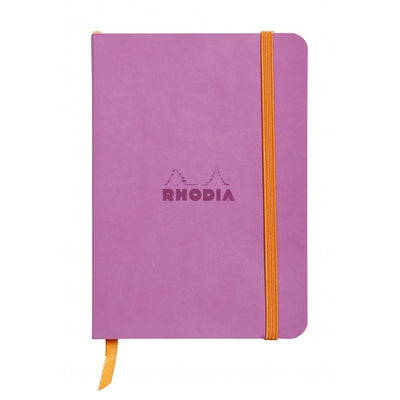 Rhodia Rhodiarama Soft Cover A5 Notebook - Ruled - Lilac