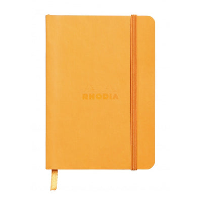 Rhodia Rhodiarama Soft Cover A5 Notebook - Ruled - Orange