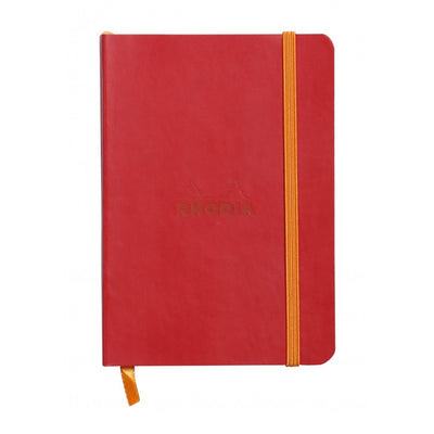 Rhodia Rhodiarama Soft Cover A5 Notebook - Dot Grid - Poppy