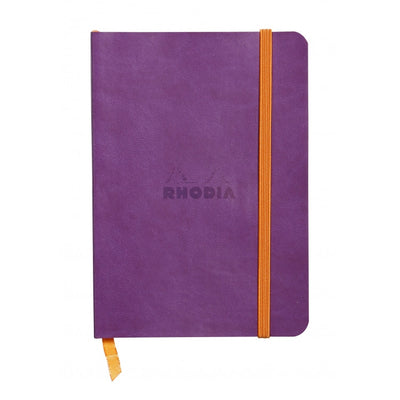 Rhodia Rhodiarama Soft Cover A5 Notebook - Dot Grid - Purple