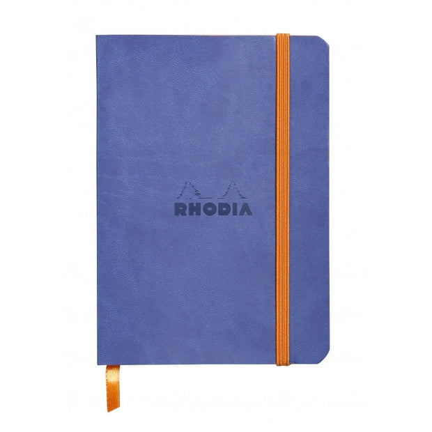 Rhodia Rhodiaram Soft Cover A5 Notebook - Dot Grid - Sapphire