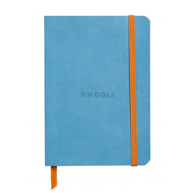 Rhodia Rhodiarama Soft Cover A5 Notebook - Ruled - Turquoise
