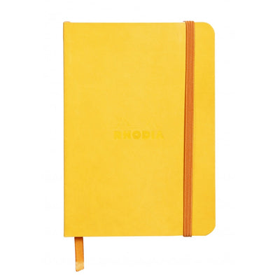 Rhodia Rhodiarama Soft Cover A5 Notebook - Dot Grid - Yellow