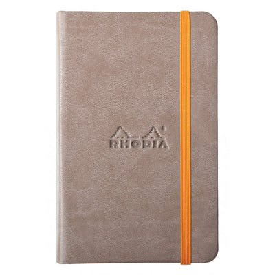 Rhodia Rhodiarama A5 Hard Cover Notebook - Plain - Taupe