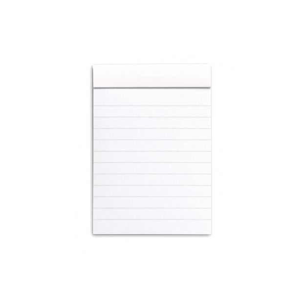 Rhodia Staplebound Notepad - Lined 80 sheets - 3 x 4 - White cover