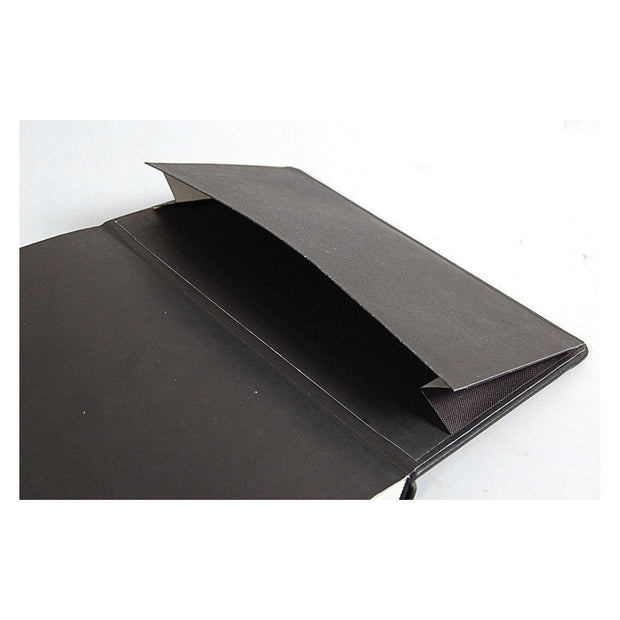 Rhodia Webnotebook Webbies - Lined 96 sheets - 3 1/2 x 5 1/2 - Black cover