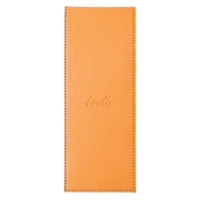 Rhodia Pad Holder with Pad 82200 - 3 x 8 1/4 - Orange cover
