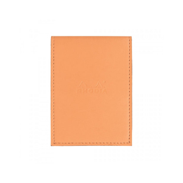 Rhodia Pad Holder with Pad 13200 - 4 1/2 x 6 1/4 - Orange cover