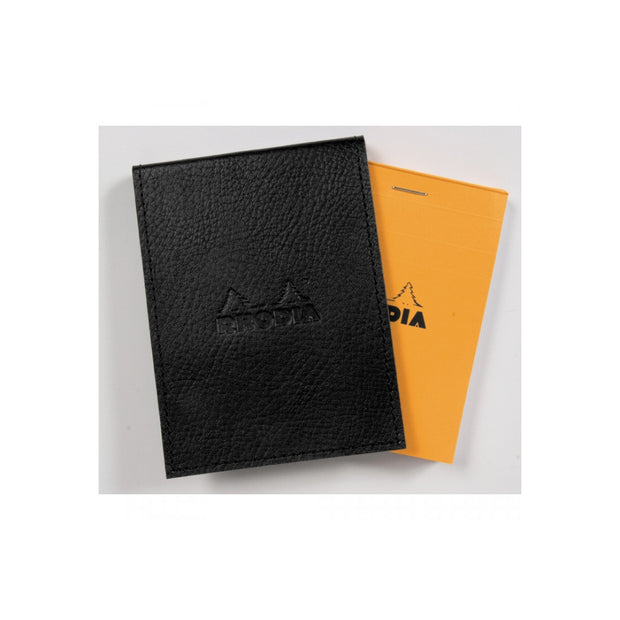 Rhodia Pad Holder with Pad 11200 - 3 1/2 x 4 1/2 - Black cover
