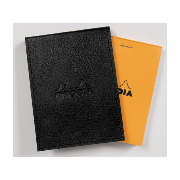 Rhodia Pad Holder with Pad 16200 - 6 x 8 3/4 - Black cover