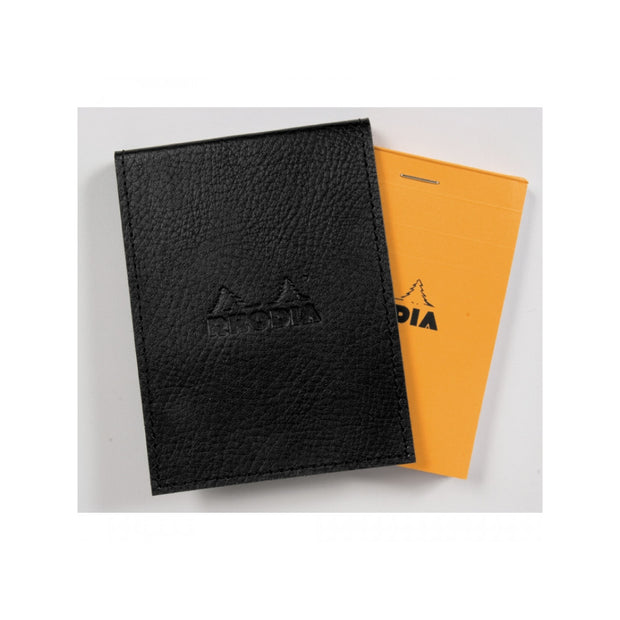 Rhodia Pad Holder with Pad 12200 - 3 3/4 x 5 1/4 - Black cover