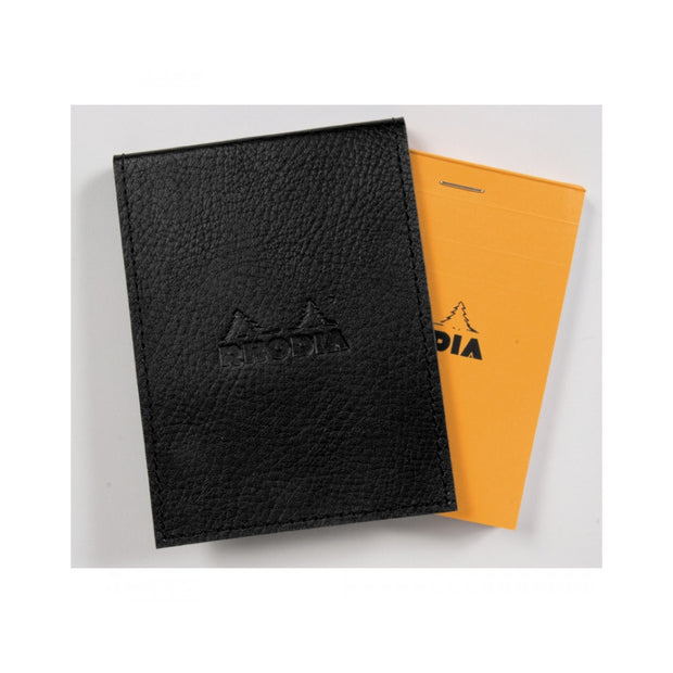 Rhodia Pad Holder with Pad 13200 - 4 1/2 x 6 1/4 - Black cover