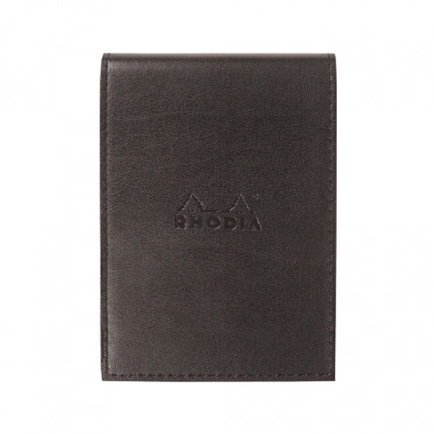 Rhodia Pad Holder with Pad 18200 - 8 1/4 x 11 3/4 - Black cover