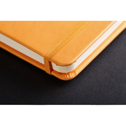 Rhodia Webnotebook Webbies - Lined 96 sheets - 5 1/2 x 8 1/4 - Orange cover