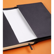 Rhodia Webnotebook Webbies - Dot grid 96 sheets - 5 1/2 x 8 1/4 - Black cover
