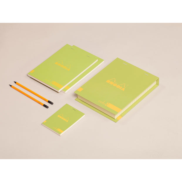 Rhodia ColoR Premium Treasure Box - 7 x 9 x 1 - Anise