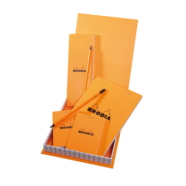 Rhodia Treasure Box - 7 x 9 x 1 - Orange