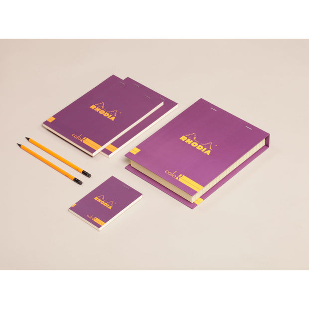 Rhodia ColoR Premium Treasure Box - 7 x 9 x 1 - Violet
