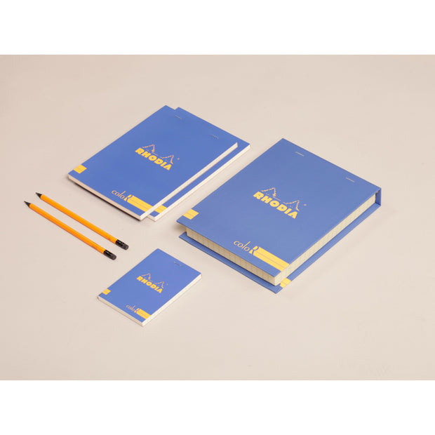 Rhodia ColoR Premium Treasure Box - 7 x 9 x 1 - Sapphire