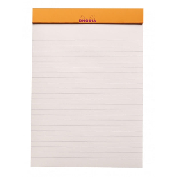 Rhodia ColoR Pads, Raspberry Cover, Ruled Pages, 8 1/4 x 11 3/4