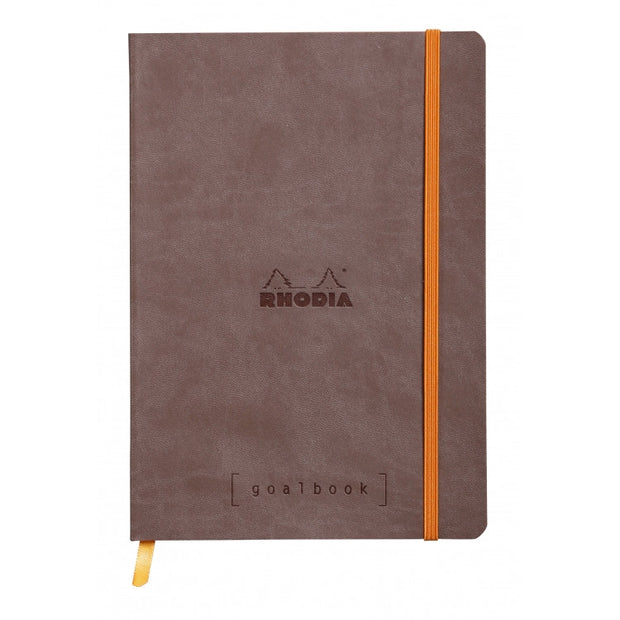 Rhodia Softcover Goalbook - Chocolate