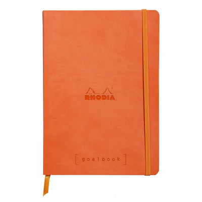 Rhodia Softcover Goalbook - Tangerine