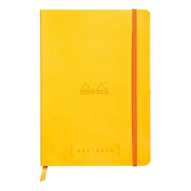 Rhodia Softcover Goalbook - Yellow