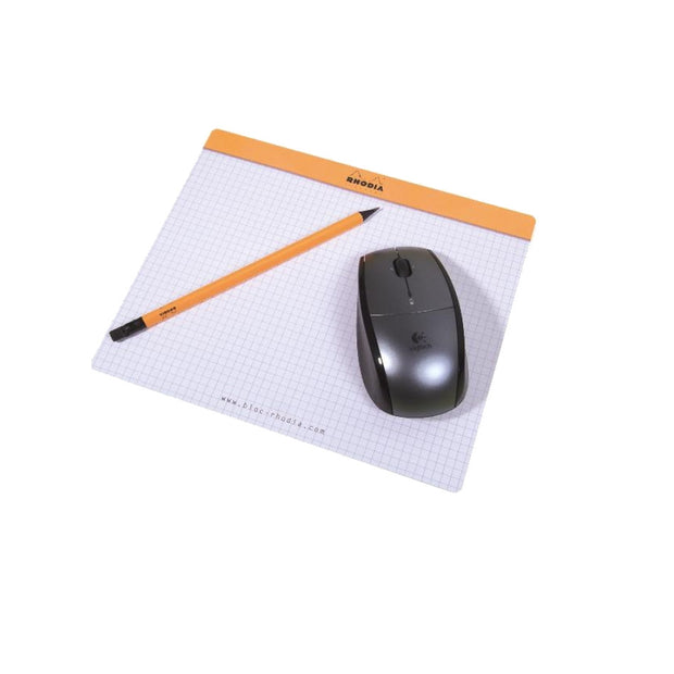 Rhodia Mouse Pad - Graph 30 sheets - 7 1/2 x 9