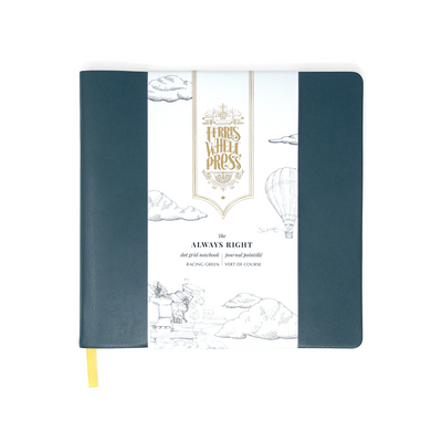 Ferris Wheel Press Always Right Notebook - Racing Green