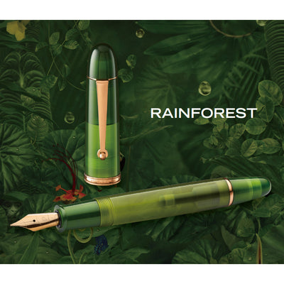 Penlux Masterpiece Grande Fountain Pen - Rainforest