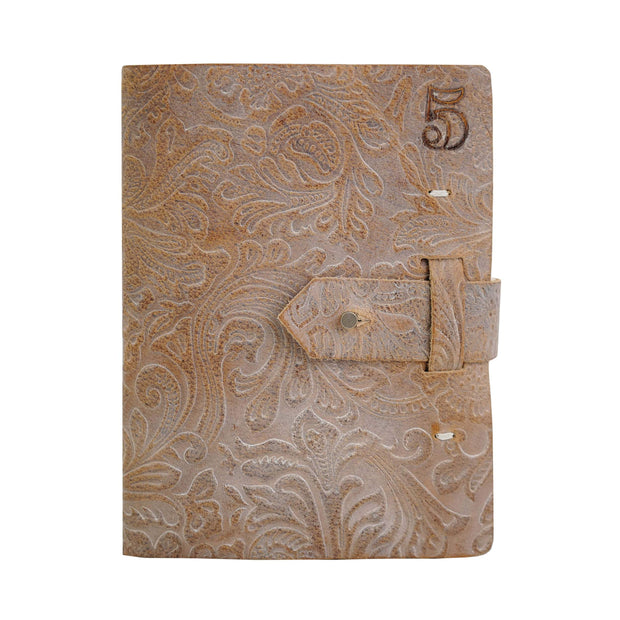 Rustico Five Year Journal - Floral Cognac (Special Edition)