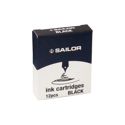 Sailor Jentle - Black - Ink Cartridges