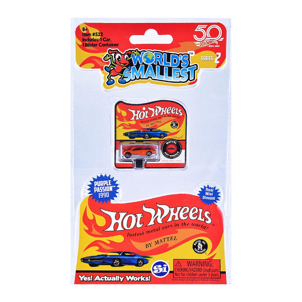 World's Smallest Hot Wheels Series 2